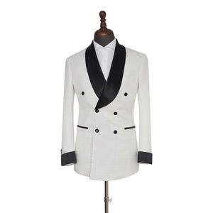 Other - Men's White Black 2 Piece Tuxedo
